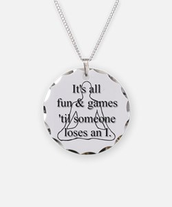 It's all fun & games... Necklace