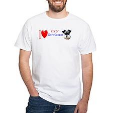 Cute Schnauzer dog Shirt