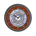 STAR MAPS:  Astrological Chart Wall Clock