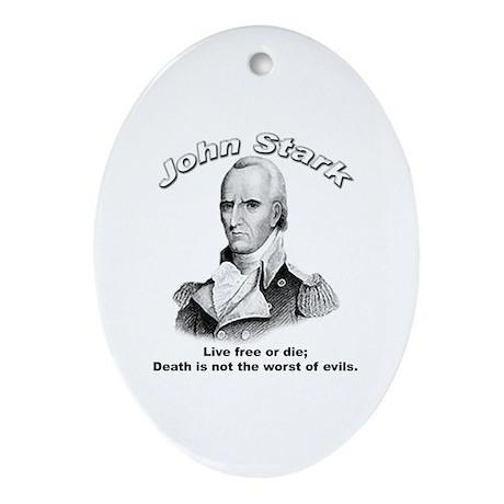 John Stark 02 Oval Ornament