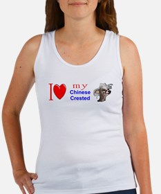 Cute I heart chihuahuas Women's Tank Top