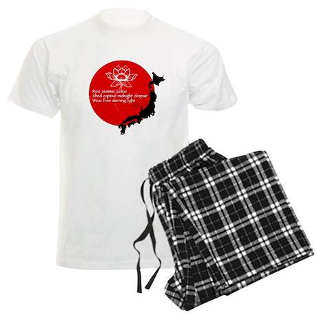 Japan Earthquake Relief Haiku Men's Light Pajamas