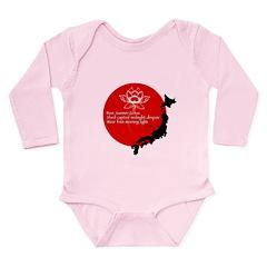 Japan Earthquake Relief Haiku Long Sleeve Infant B