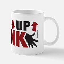 Down Up Chunk Ukulele Mug