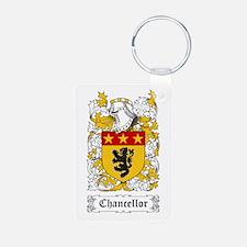 Chancellor Aluminum Photo Keychain