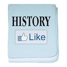 Like History? baby blanket