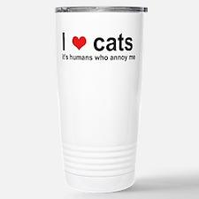 Unique Cats Travel Mug