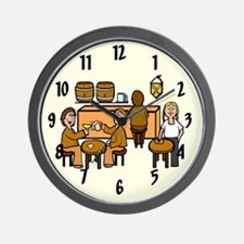 """Room At the Inn"" Wall Clock"