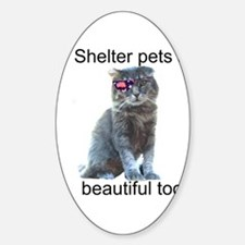 Shelter Pets Decal
