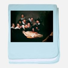 Anatomy Lecture of Dr Nicolae baby blanket