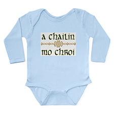 My Darling Girl (Gaelic) Long Sleeve Infant Bodysu