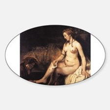 Bathsheba Sticker (Oval)