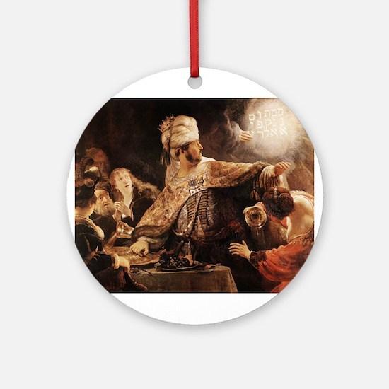 Belshazzar's Feast Ornament (Round)