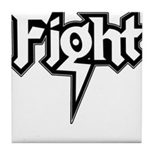 Fight Tile Coaster