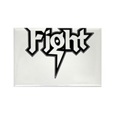 Fight Rectangle Magnet