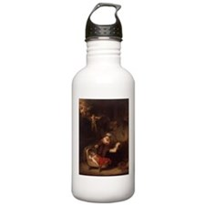 Holy Family with Angels Water Bottle