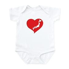 I Heart Japan Infant Bodysuit