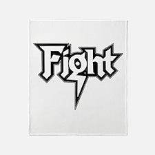 Fight Throw Blanket