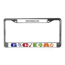 GCEA Ukulele License Plate Frame