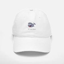 """W"" Is For Whale! Baseball Baseball Cap"