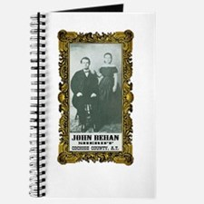 John Behan Sheriff Journal
