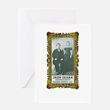 John Behan Sheriff Greeting Card
