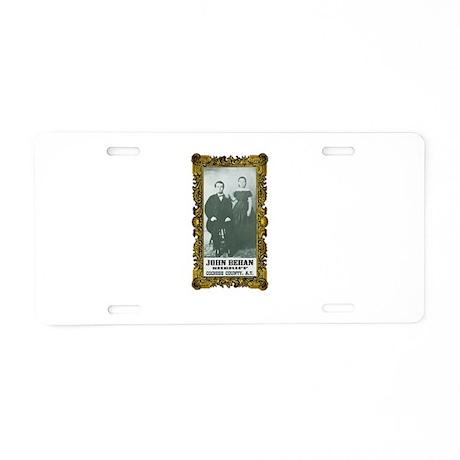 John Behan Sheriff Aluminum License Plate