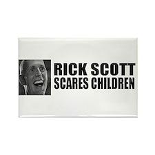 Scares Children Rectangle Magnet