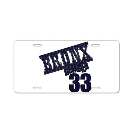 BB33 Aluminum License Plate