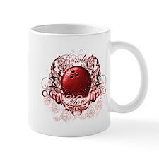 Bowling Mom (Red) Mug