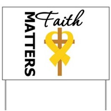 COPD Faith Matters Yard Sign