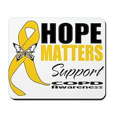 COPD Hope Matters Mousepad
