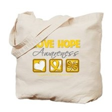 COPD Love Hope Tote Bag