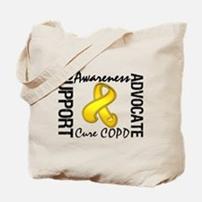 COPD Support Cure Tote Bag