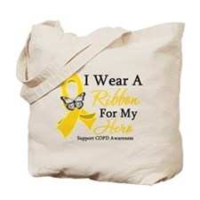 COPD Ribbon Hero Tote Bag