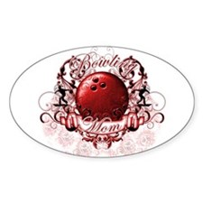 Bowling Mom (Red) Decal