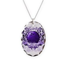 Bowling Mom (Purple) Necklace