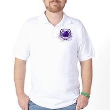 Bowling Mom (Purple) T-Shirt