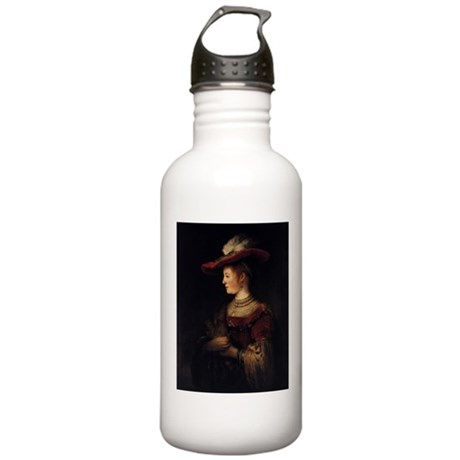 Saskia in a Pompous Dress Stainless Water Bottle 1
