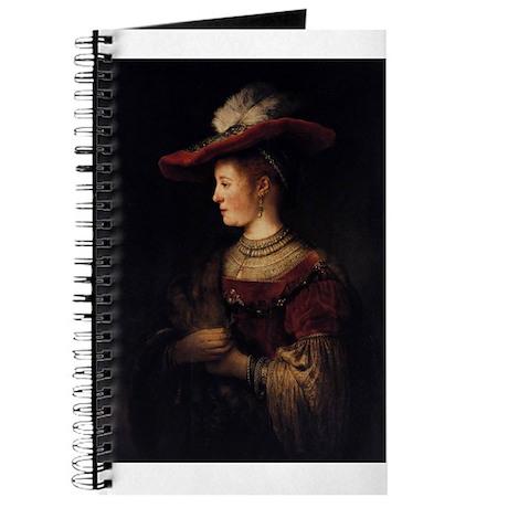 Saskia in a Pompous Dress Journal