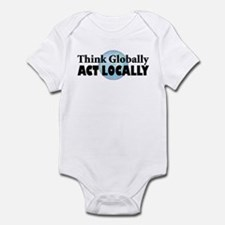 Think Globally Infant Creeper