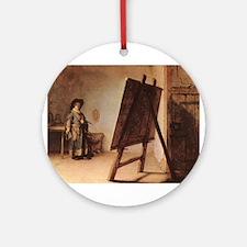 Self Portrait 1626 Ornament (Round)