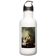 Storm on the Sea of Galilee Sports Water Bottle
