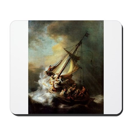 Storm on the Sea of Galilee Mousepad