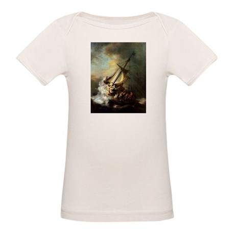 Storm on the Sea of Galilee Organic Baby T-Shirt