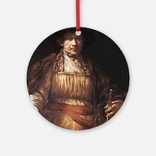 Self Portrait 1658 Ornament (Round)