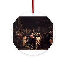 The Nightwatch Ornament (Round)