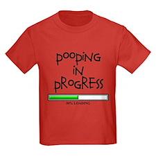 POOPING IN PROGRESS - L BLACK T