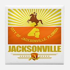 Jacksonville Pride Tile Coaster