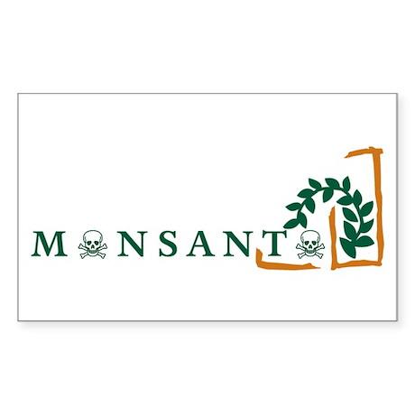 Monsanto Sticker